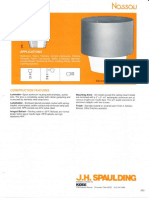 Spaulding Lighting Nassau Spec Sheet 8-84