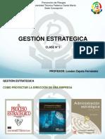 Clase 3 Gestion Estrategica USM 2018