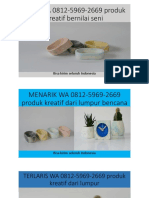 UNIK WA 0812-5969-2669 produk kreatif bernilai seni