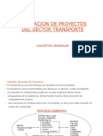 Transportes - proyectos