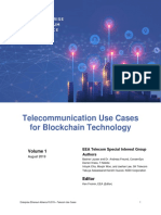 Blockchain Use Cases for the Telecommunications Industry