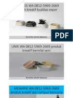 TERLARIS WA 0812-5969-2669 produk kreatif kualitas expor