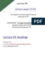 Jarkomdat04-Principles of Network Applications