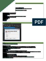 01. Konfigurasi Server aplikasi penjualan