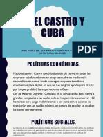 Fidel Castro y Cuba