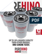Pure Hino Filters Flyer 2016 Ol
