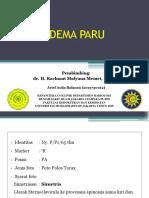 Edema Paru - Arief