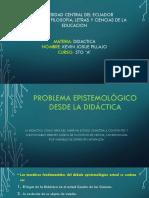 Diapositivas didáctica u. Central