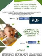 m2-p3 Las Familias, Los Niños y Las Niñas Como Sujetos de Derechos