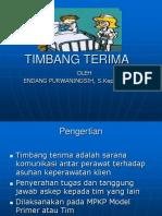 TIMBANG TERIMA