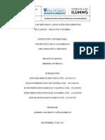 Proyecto Grupal Organización y Métodos Entrega Final