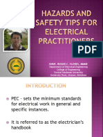 Hazards and Safety Tips for Electrical Practitioners