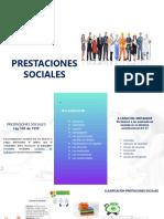 Clasificación prestaciones Sociales