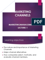 Lecture 1- Marketing Channels (1)