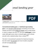 Conventional Landing Gear - Wikipedia