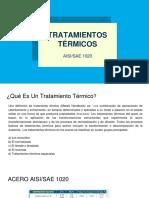 Tratamientos Termicos Acero 1020