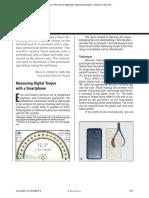 Measuring Digital Torque With a Smartphone