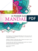 eBook Mandalas Para Colorir Workshop o Poder Das Mandalas