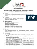 Directiva 003 - Elecciones Internas
