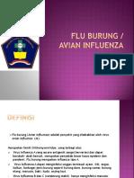 asuhan keperawaan flu burung