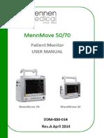 Mennmove 50.70 Patient Monitor User Manual