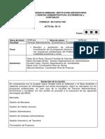 Acta Facultad Admon Empresas 05 13