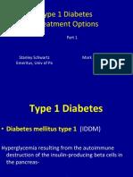 Type 1 Diabetes Treatment Options Part 1