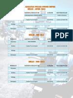 Agenda Kegiatan Pulsar Owner Depok 2013