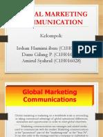 Group 4 - Global Marketing Communication