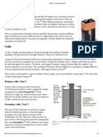 Battery - Energy Education