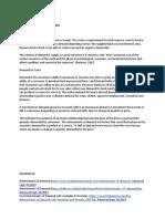 Determinants for Land Demand