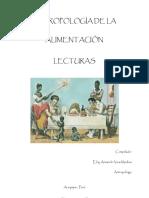 Antropologia de Nutricion
