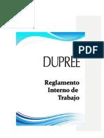 Reglamento Interno de Trabajo Dupree 2018 (1)