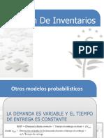 Modelos probabilisticos 2