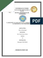 INFORME DE ETICA LA RELIGION Y SU INFLUENCIA.docx
