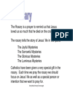 Rosary Lesson Plan