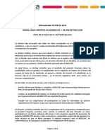 Acta Compromiso de Participación Patenta