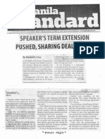 Manila Standard, Oct. 23, 2019, Speaker's term extension pushed sharing deal shaky.pdf