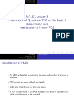 MA 201 (2019)-PDE-Lecture-5