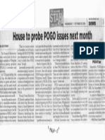 Philippine Star, Oct. 23, 2019, House to probe POGO issues next month.pdf