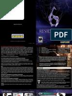 Manual Resident Evil 6