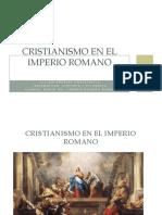 Cristianismo en El Imperio Romano (1)