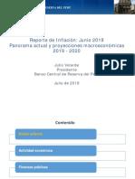 Reporte de Inflacion Junio 2019 Presentacion