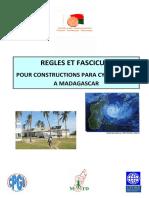 REGLES Batiments Para Cycloniques Madagascar