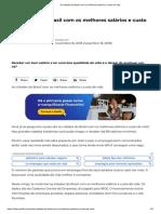 [Desenvolvimento] as Cidades Do Brasil Com Os Melhores Salários e Custo de Vida