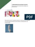 Proceso de Transformacion de Envases Plasticos