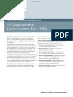 Refining Industry_Vapor Recovery Unit (VRU)