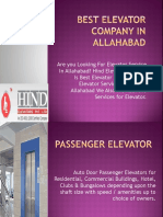 BEST ELEVATOR COMPANY IN ALLAHABAD