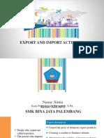 Impor dan ekspor