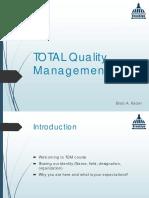TQM Course